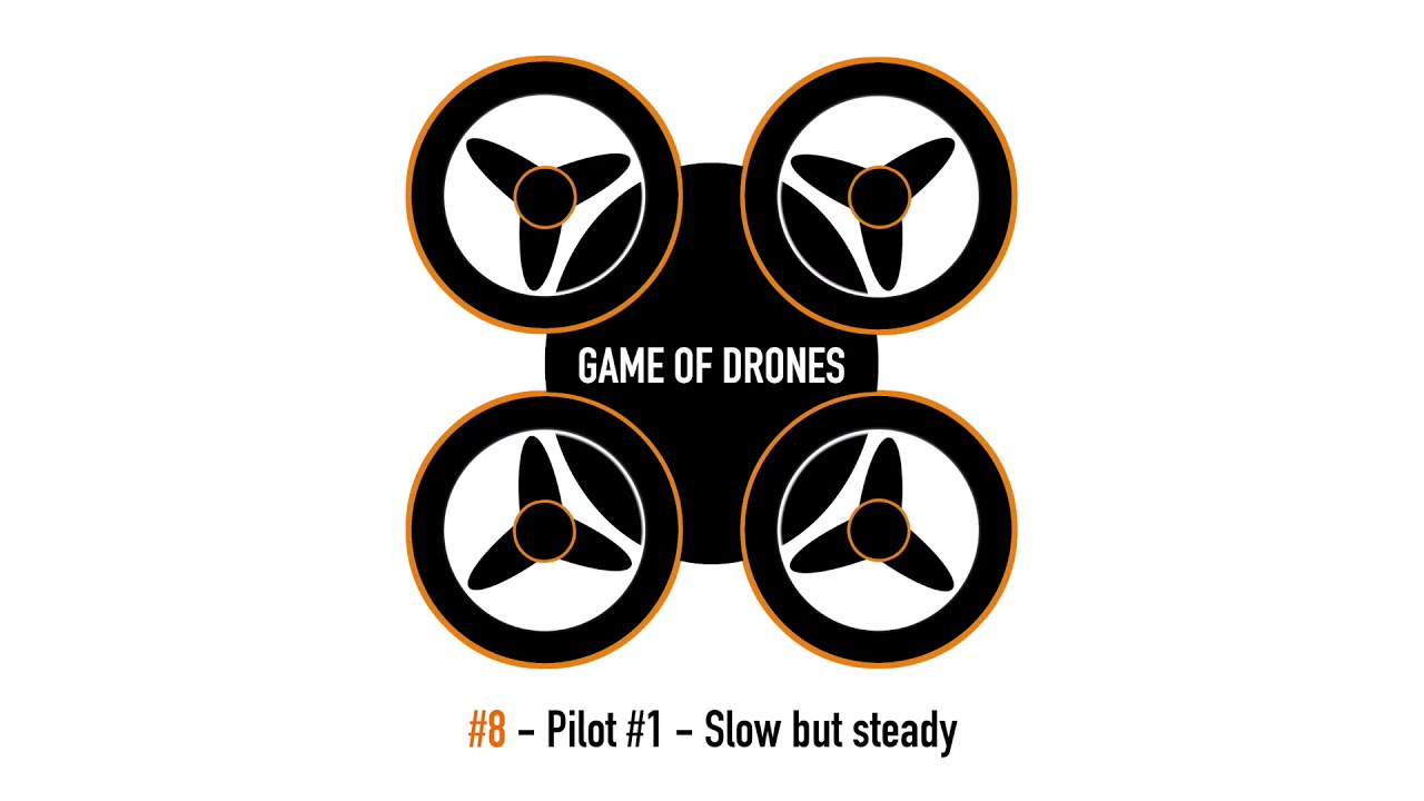 Game of Drones - Pilot #1 Slow and steady FPV drone flying картинки