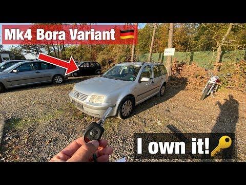 I Bought Another Junkyard Car!! MK4 Bora Variant