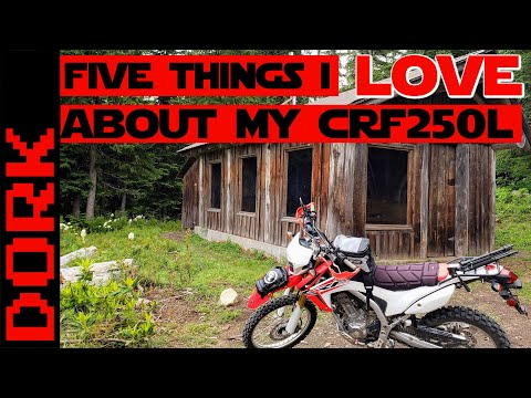 Five Things I LOVE About My Honda CRF 250L: A One-Sided Honda CRF250L Review