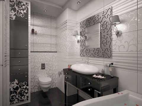 ⚫Дизайн Современного гостевого  санузла  в стиле арт-деко ,Latest Beautiful Bathroom Designs