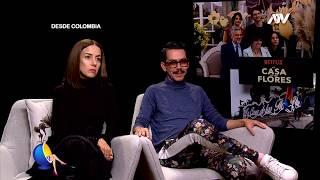 LA CASA DE LAS FLORES: ENTREVISTA CON MANOLO CARO Y CECILIA SUÁREZ