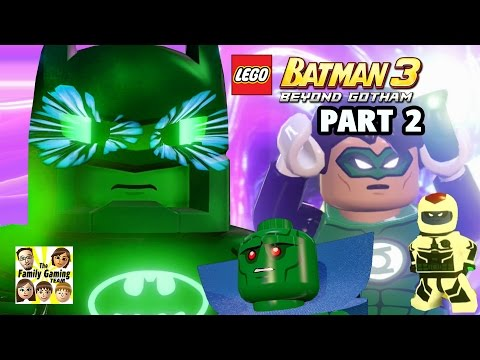 Lets Play: Lego Batman 3 - BATCAVE (PART 2) Braniac Control