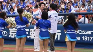2016.6.19 横浜スタジアム お笑いコンビノンスタイル(NONSTYLE)、井上...