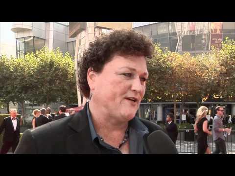 Dot Marie Jones at the Creative Arts Emmy Awards 2011
