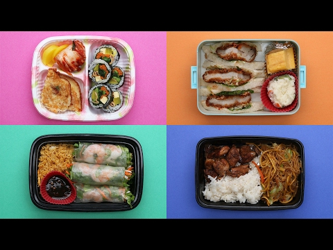 What Asian American School Lunches Look Like