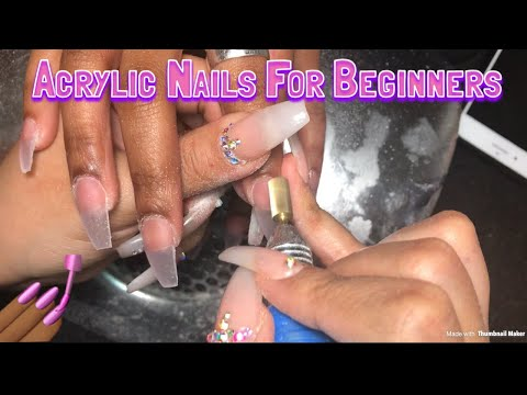 Acrylic Nails For Beginners | Materials Needed To Do Nails