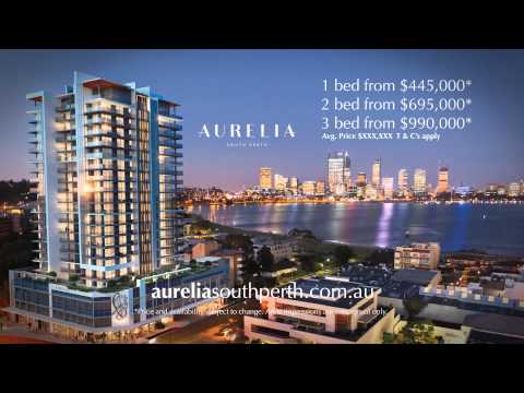 Aurelia South Perth TV ad