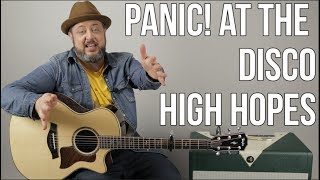 Panic At The Disco - High Hopes - Guitar Lesson