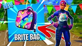 "HOW TO GET THE SECRET ""BRITE BAG"" IN FORTNITE BATTLE ROYALE (BRITE BACKPACK COMING TO ITEM SHOP?!)"