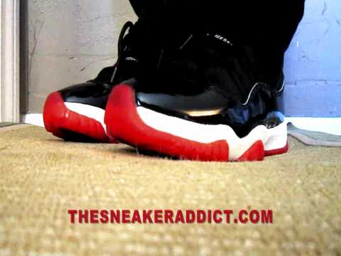 1995 OG Nike Air Jordan 11 XI Original Sneaker Review W/ @DjDelz Plus On Feet