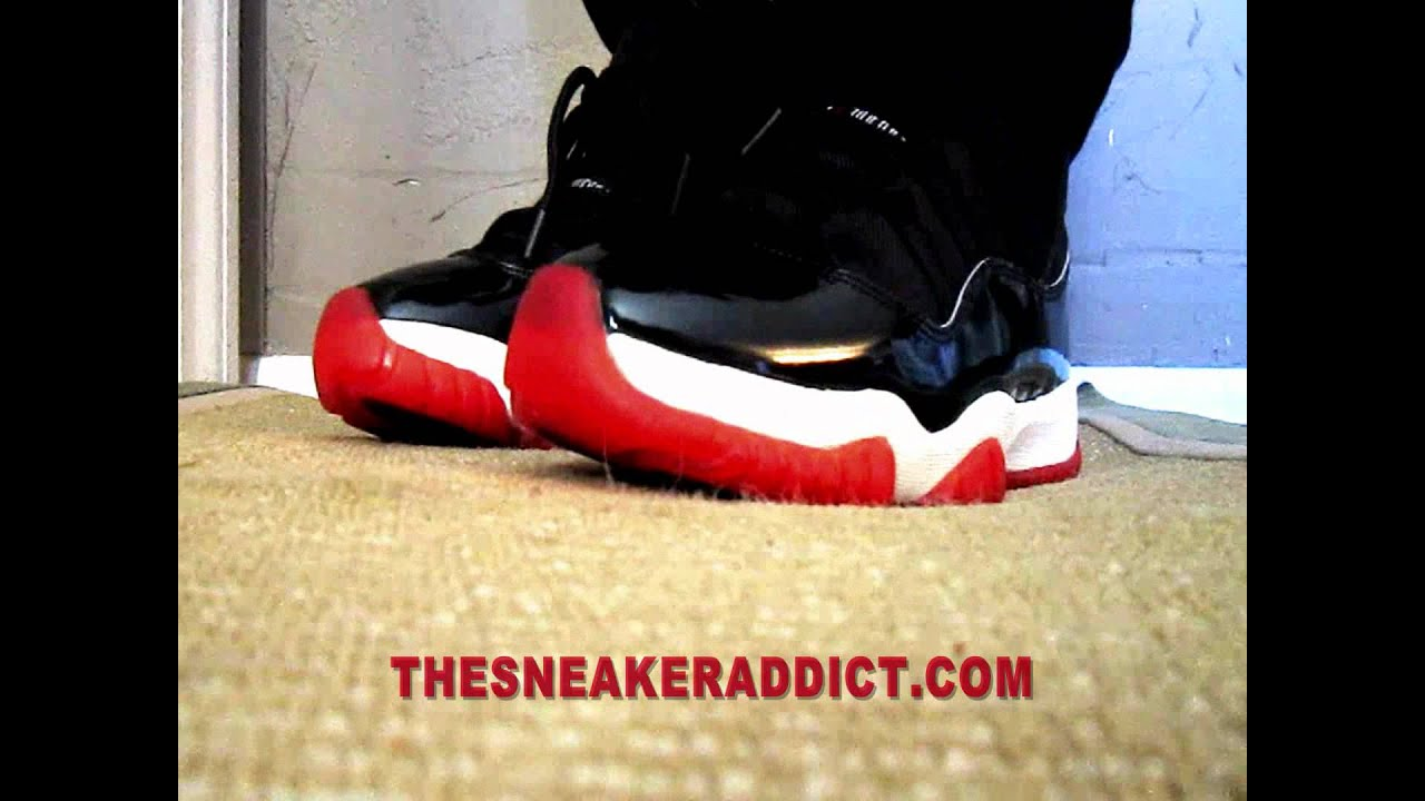 d0d6d35d3a1f75 1995 OG Nike Air Jordan 11 XI Original Sneaker Review W   DjDelz Plus On  Feet - YouTube