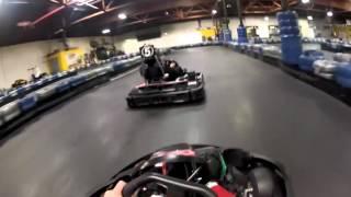 Kart racing at Go Kart Racer in Burlingame