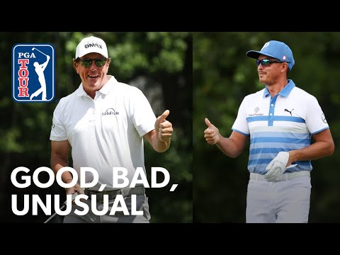 Phil pranks Bryson, Rickie's epic topped shot & Bubba's driver off the deck