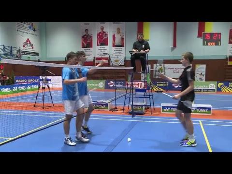 Polish Open U17 Głubczyce - MD FINAL - B.Gałązka/M.Matusz (POL) Vs. J.Janostik/T.Svejda(CZE)