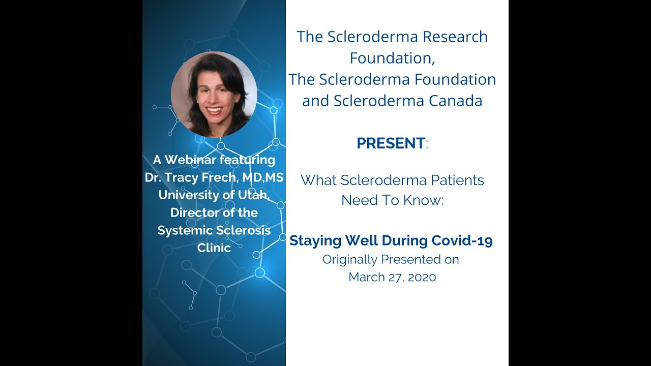 What Scleroderma Patients Need to Know