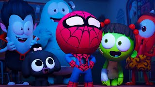 Spider Kongkong | NEW Season 4 | Spookiz | Cartoons for Kids