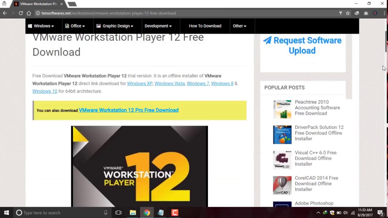 download vmware workstation 12 for windows 32 bit