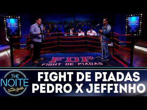 Fight de Piadas: Pedro Lemos x Jeffinho - Ep.12   The Noite (31/05/18)