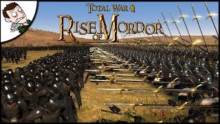 GONDOR FIGHTS FOR SURVIVAL! Rise of Mordor Total War Attila Mod Close Alpha Gameplay