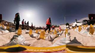 360 degrees - Delivering food aid in Mosul | World Vision Australia