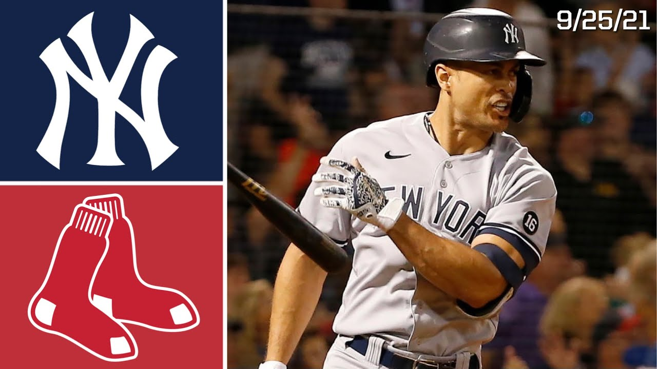 Download New York Yankees @ Boston Red Sox | Game Highlights | 9/25/21