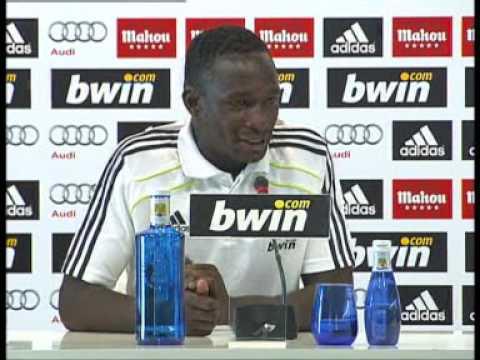 """Mahamadou Diarra: """" Mourinho es muy bueno tacticamente, es un ganador nato """""""