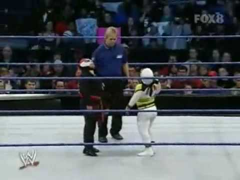 WWE Velocity : Mascarita Sagrada Vs. Octagoncito - YouTube