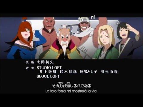 Naruto Shippuden Ending 30 Sub ITA [ Never Change feat.Lyu:Lyu ]