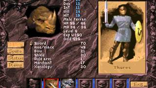 "Thunderscape (PC/DOS) 1995, SSI ""Blind gameplay"" Part-2"