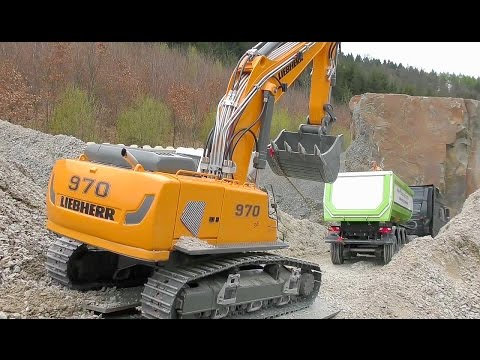 HEAVY CONSTRUCTION SITE🔥 AMAZING AND NEW R/C MACHINES AT WORK🔥BIG CONSTRUCTION 🔥RC LIVE ACTION