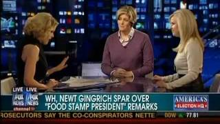 """Food Stamp President"" is Race-Baiting: Sally Kohn on Fox News"