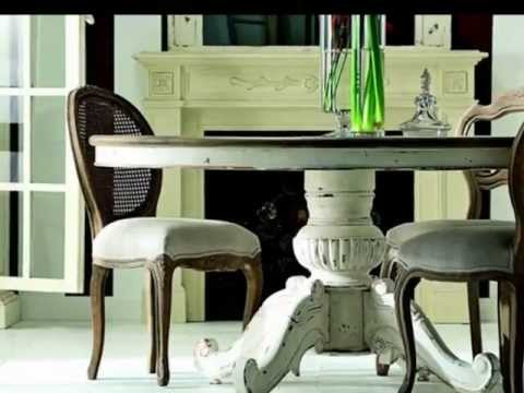 muebles patinados blancos - YouTube