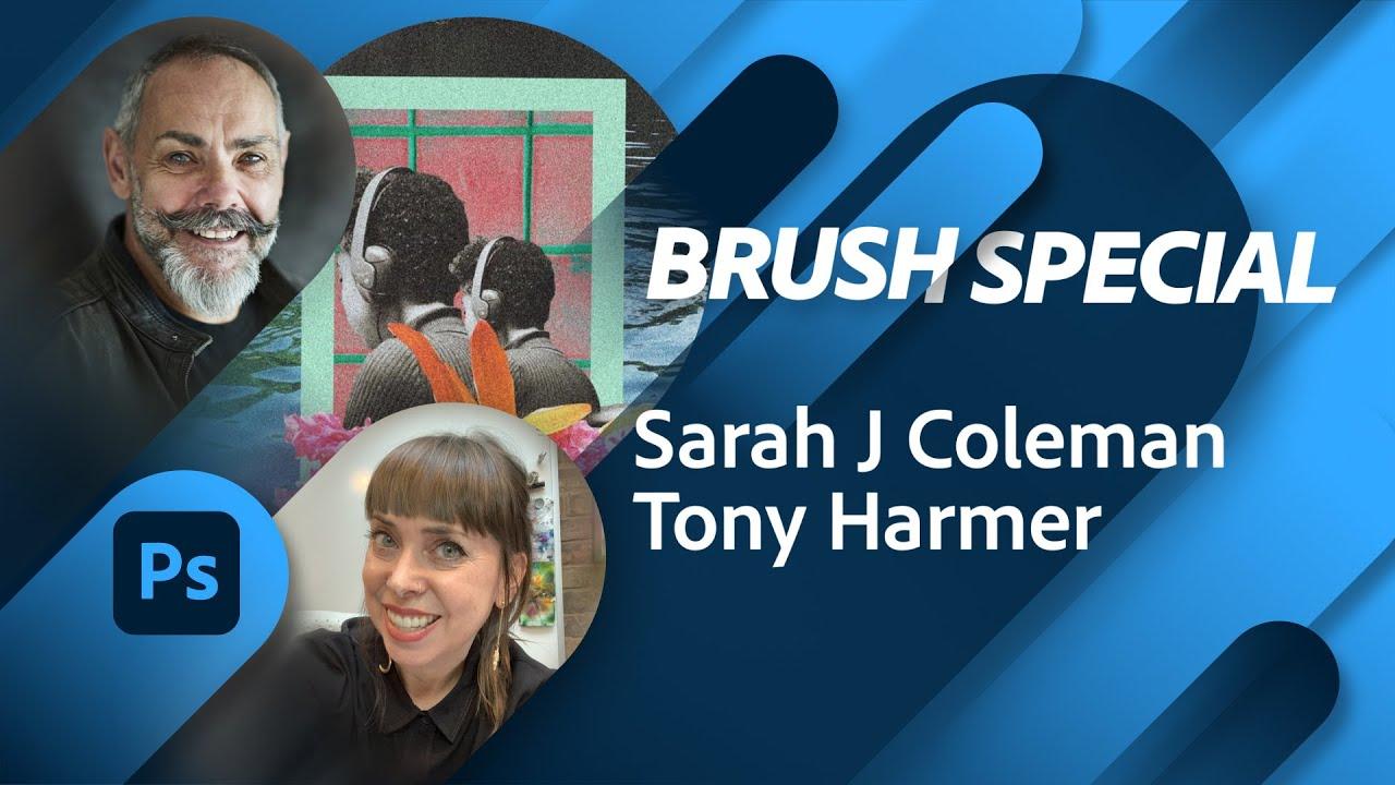 Brush Masterclass with Sarah J Coleman | Adobe Live