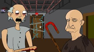 GRANNY THE HORROR GAME ANIMATION #1 : Chapter Two Grandpa Animated Trailer