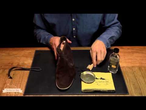 Chidoll - Mẹo hay giúp giày da lộn luôn sạch và mới