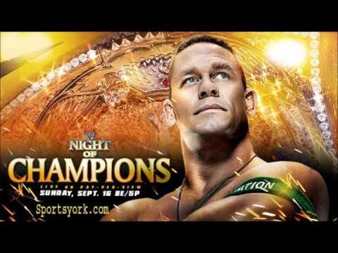 WWE Night Of Champions 2012 Theme Song (Kevin Rudolf-Champions) HQ + Lyrics