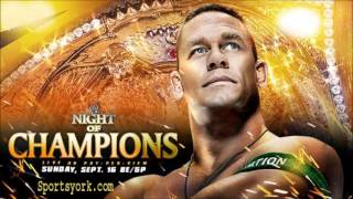 WWE Night Of Champions 2012 Theme Song (Kevin Rudolf-Champions) HQ + Lyrics