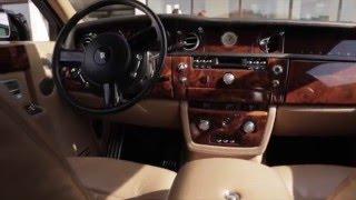 Прокат Авто на свадьбу Rolls-Royce / Роллс Ройс Фантом черный