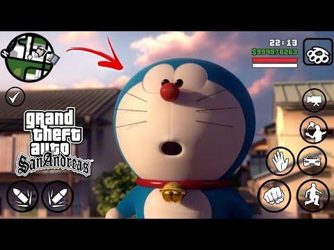 Mb Gta Doraemon Lite Mod For Android By Fast Gamer With Doraemon House Ft Litestmodder