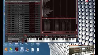 Обзор Библиотеки естественных шумов для MOXF6-8