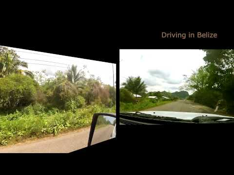 Driving the Hummingbird Highway in Belize - Shot entirely on a Gopro2s