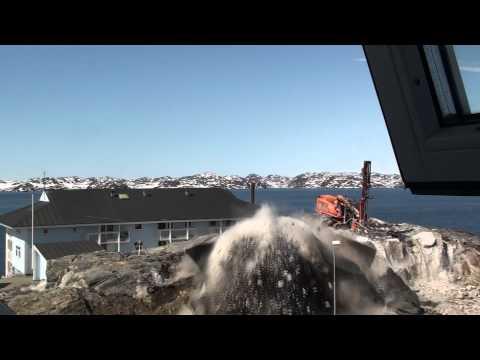 Blasting in Nuuk