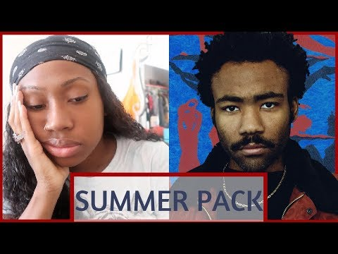 CHILDISH GAMBINO- SUMMER PACK EP REACTION/REVIEW