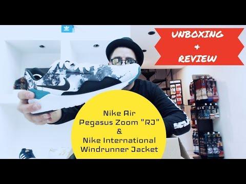 "unboxing-&-review:-nike-air-zoom-pegasus-92-""rj""-e-jaqueta-windrunner-""black"""