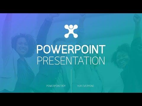 Powerpoint ตัวอย่างการทำหน้าปก Ex 6 (อธิบายทีละขั้นตอน)