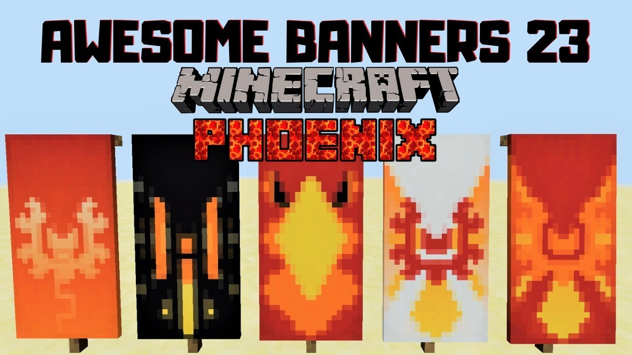 minecraft cool banner crafting recipes