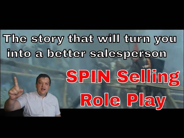 SPIN Selling history role play#MadeWithFilmora