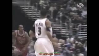Juan Dixon 27 Points Vs Bulls, 2002-03.