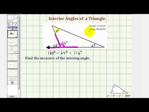 Introduction To The Interior And Exterior Angles Of A T Doovi