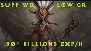 [Diablo 3 Patch 2.2] Supp WD for Low Greater Rifts // 90+ b/h exp!